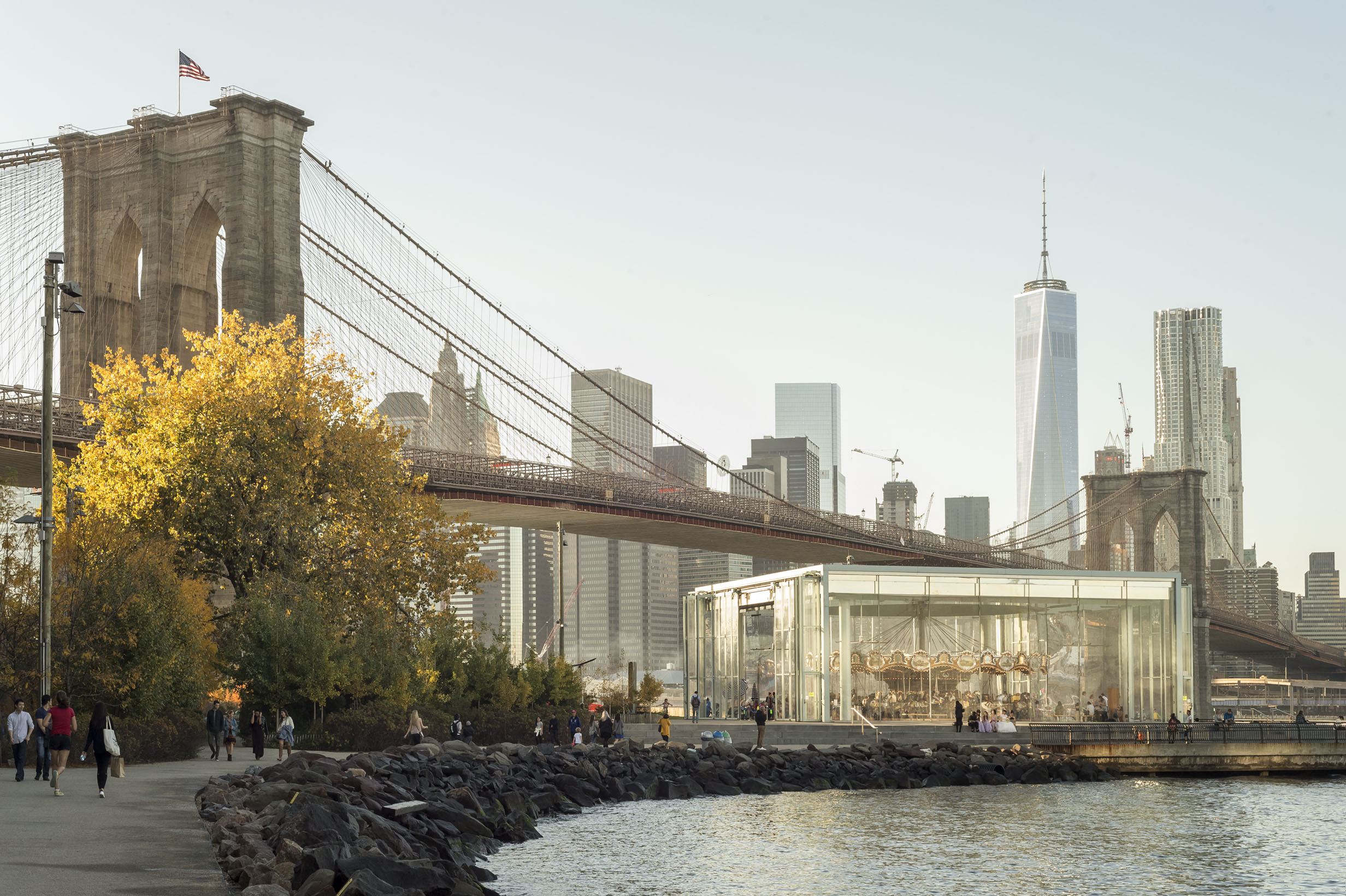 New York Curated Fall Tour 2016 DUMBO Waterfront