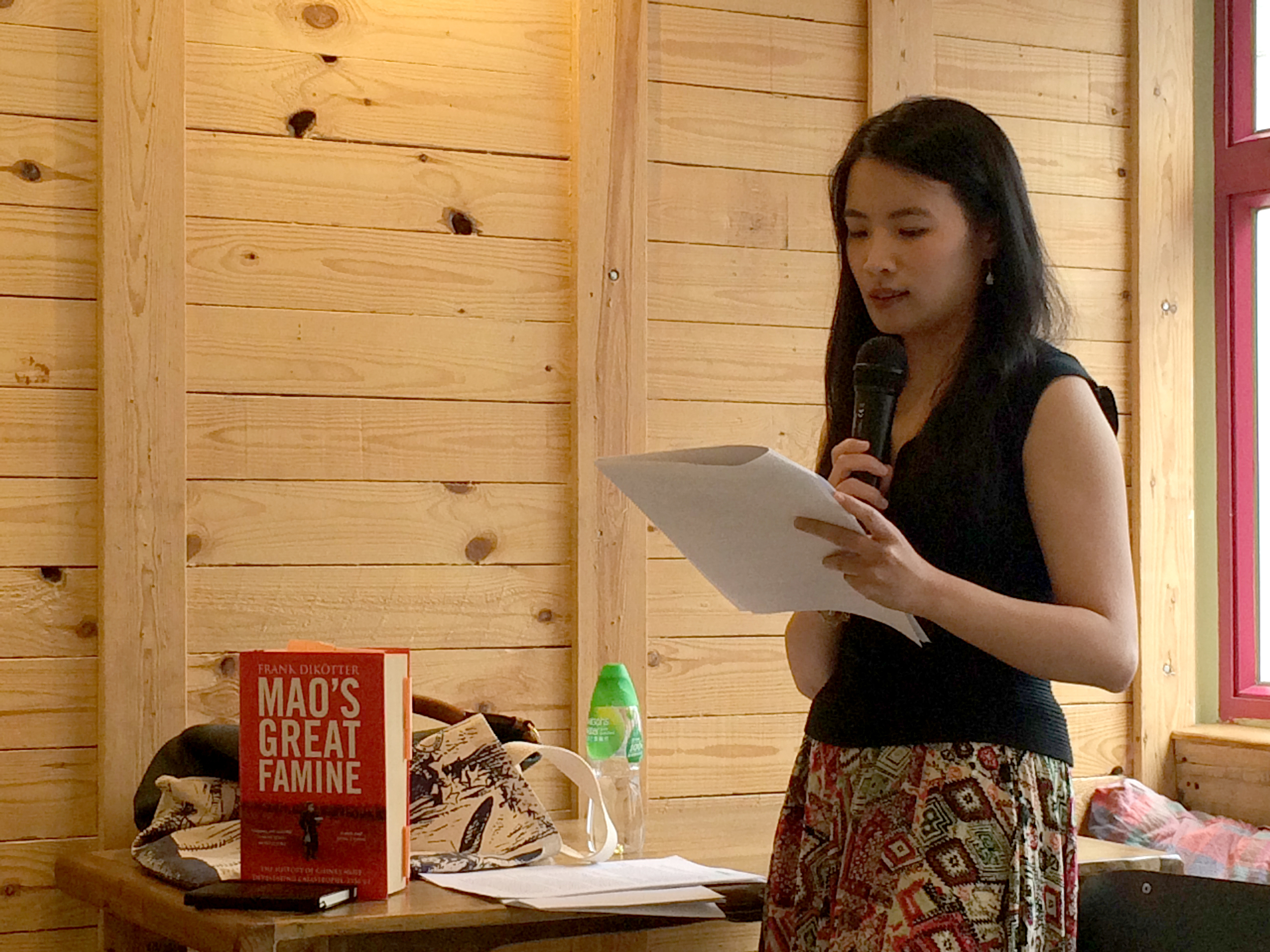 """Tammy Ho Lai-Ming, """"Now Now: On Writing Political Poems"""""""