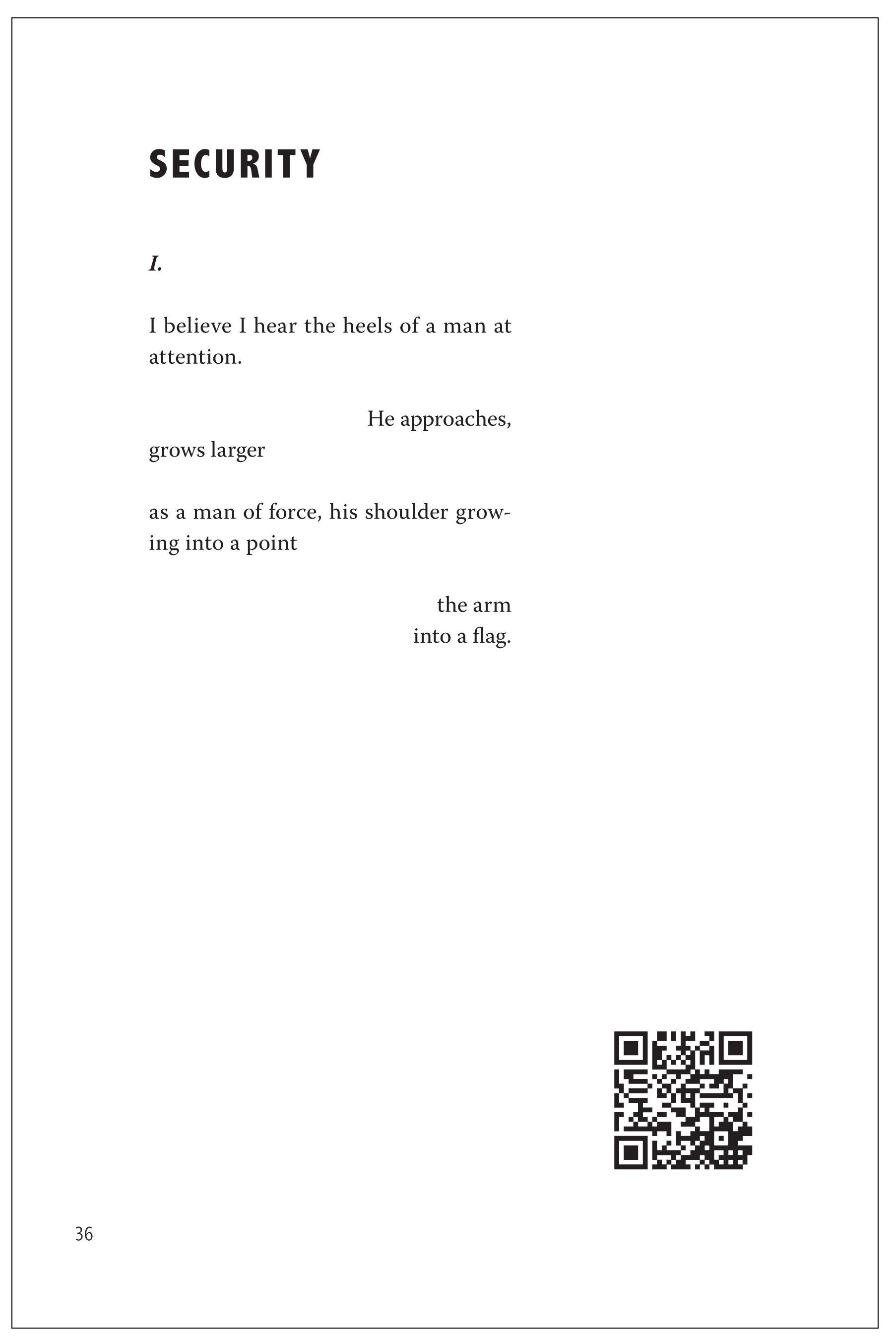 """Security"" (excerpt) print version"
