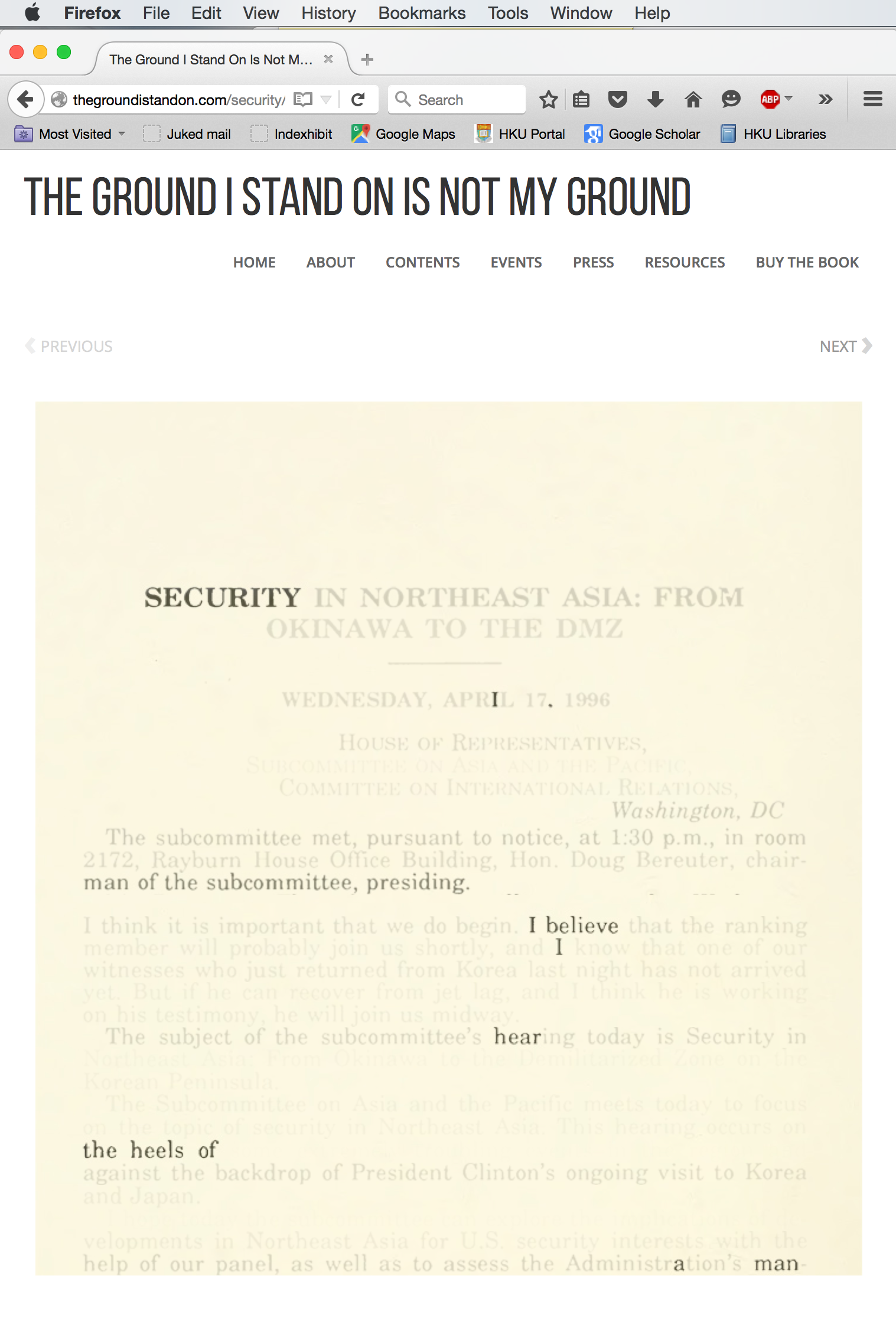 """Security"" online interactive version"