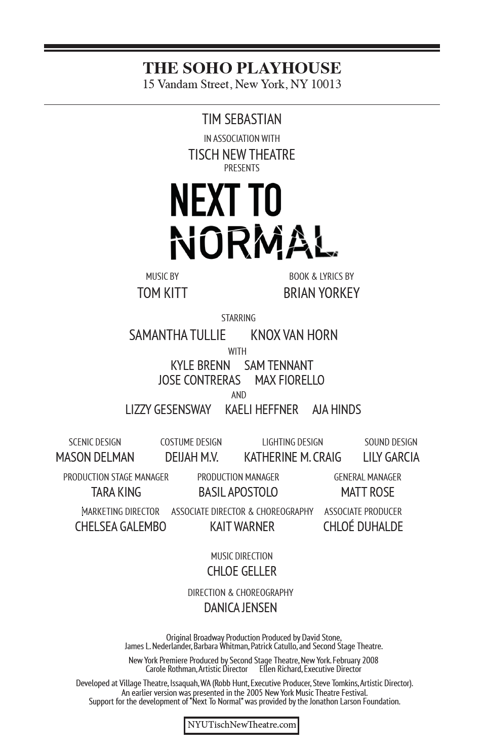 N2N Program Front Page