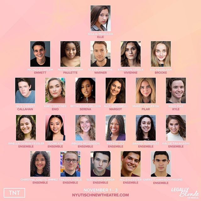 If there ever was a perfect cast, this one qualifies.  We are thrilled to announce the cast of #LBNYU. Tickets on sale OCT 4! #RethinkPink 💋
