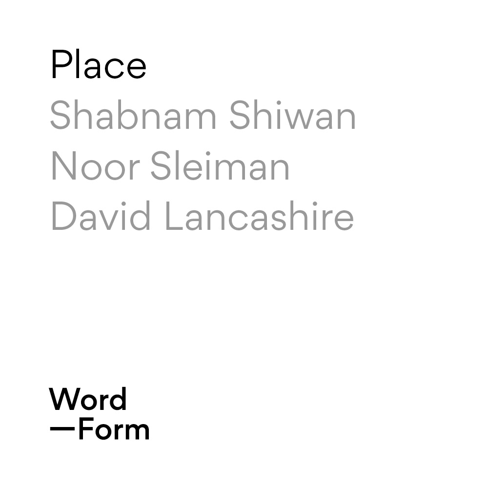 On  Place  – Word—Form