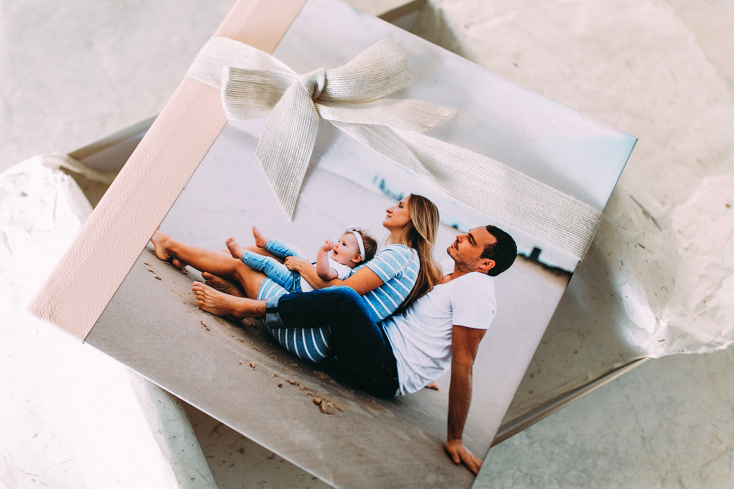 Album / folio boxes start from $850 - Our bespoke finest handcrafted albums are truly an heirloom family keepsake that will be treasured and passed down from generation to generation. We work closely with Australia's number 1 photography lab to provide the best quality for our clients.
