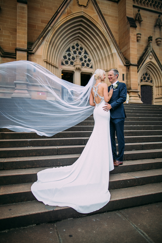 st mary's cathedral wedding - David & Angelika
