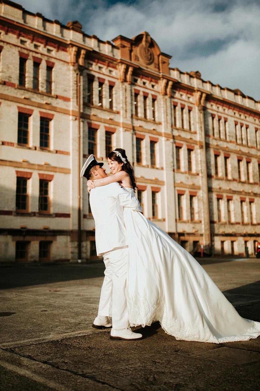 shangri la sydney wedding - Hugo & Akiko