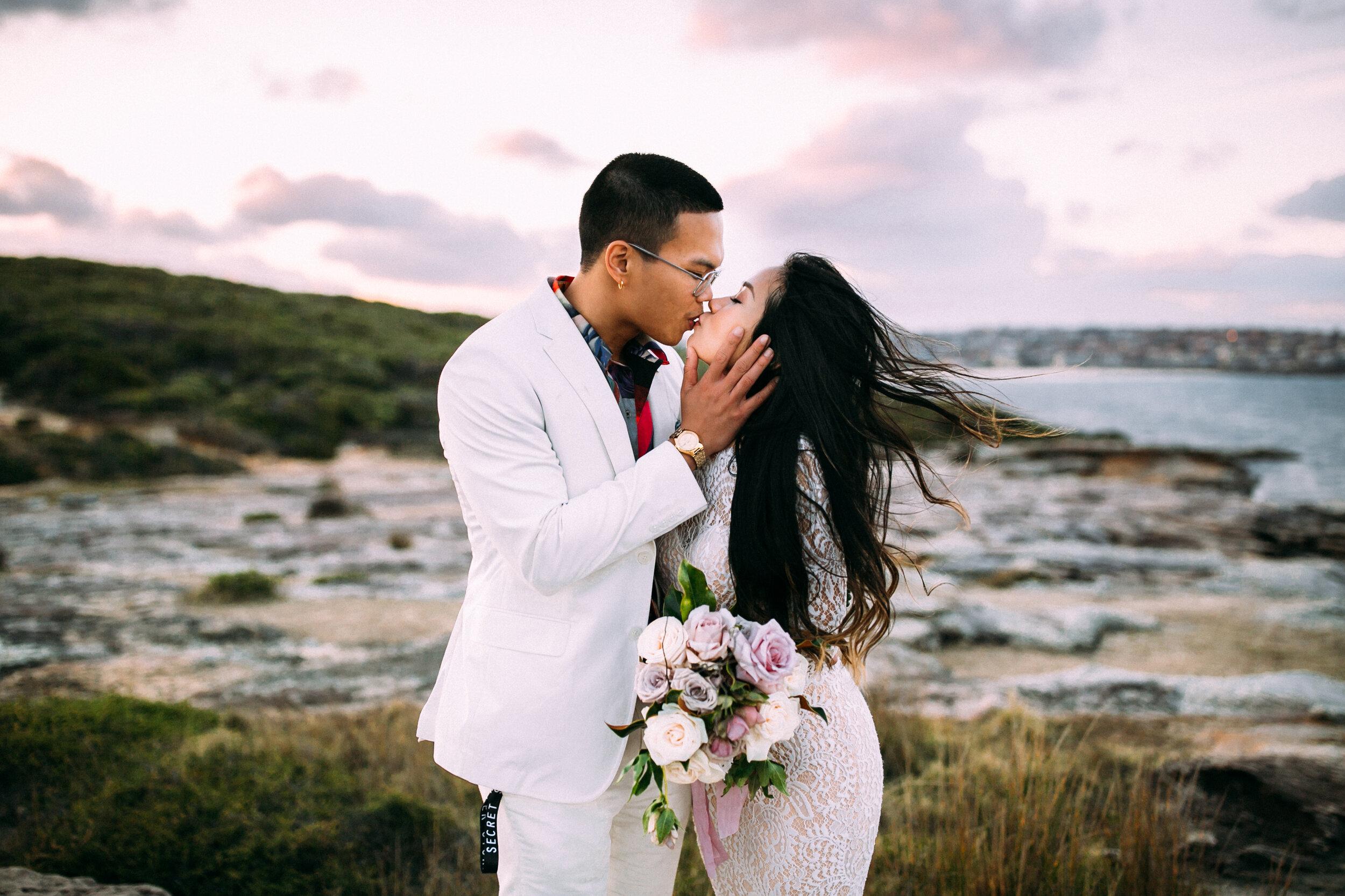 the royal botanic garden sydney wedding - Andy & Vi