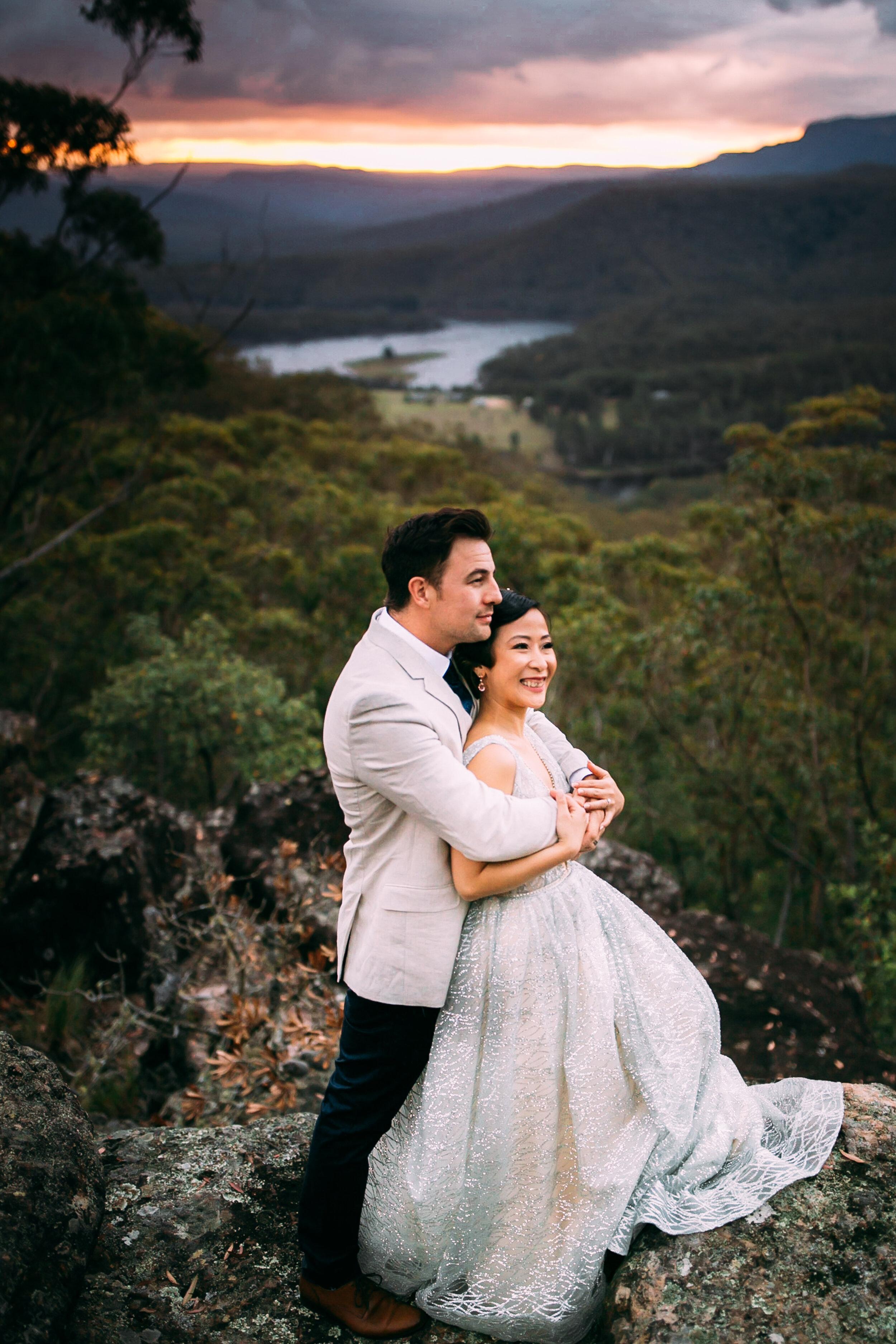 kangaroo valley bush retreat wedding - Leon & Issyn