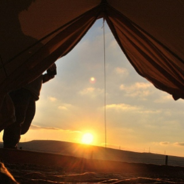 Sunrise  #viernes #camping #life