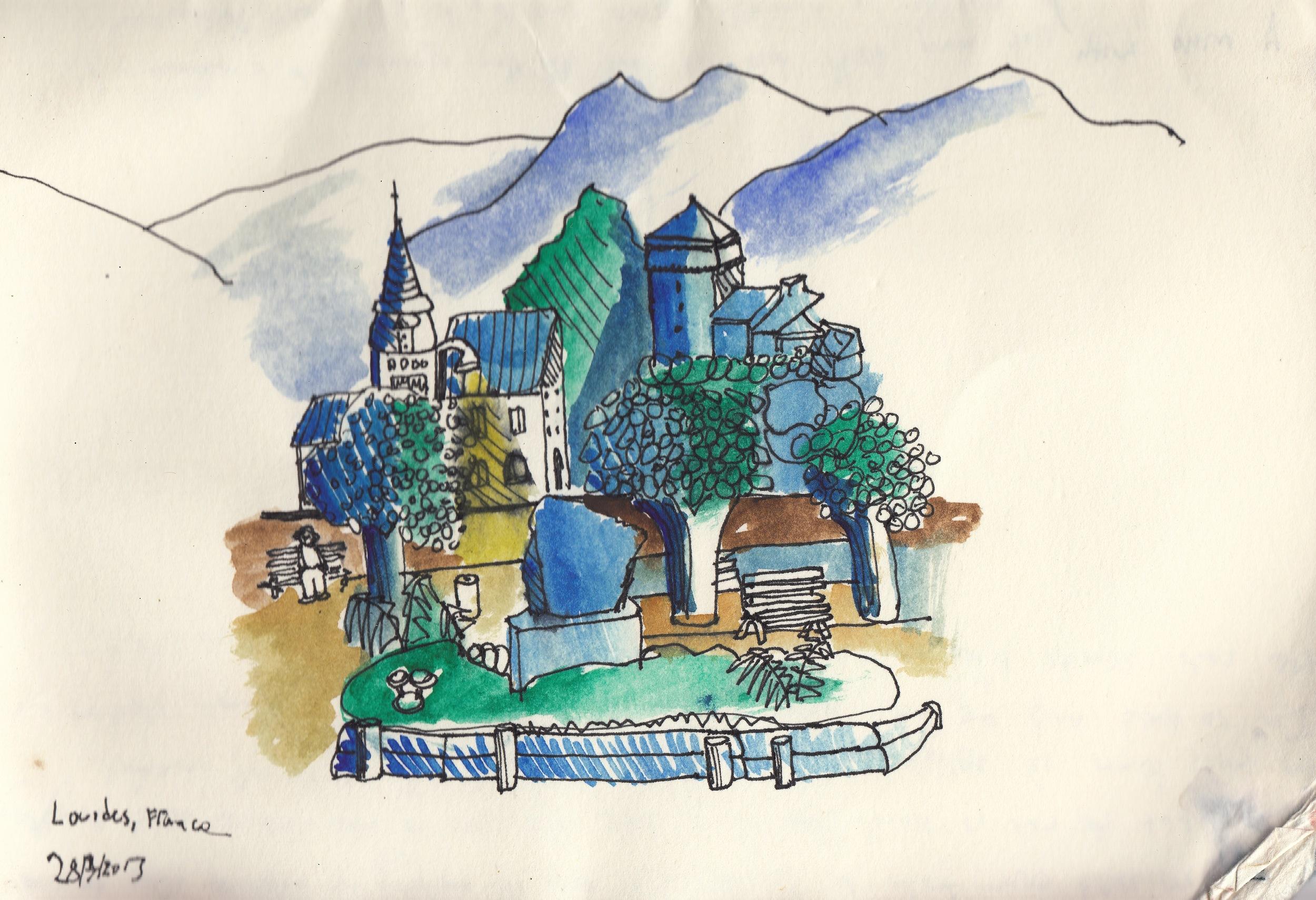 Lourdes, France.