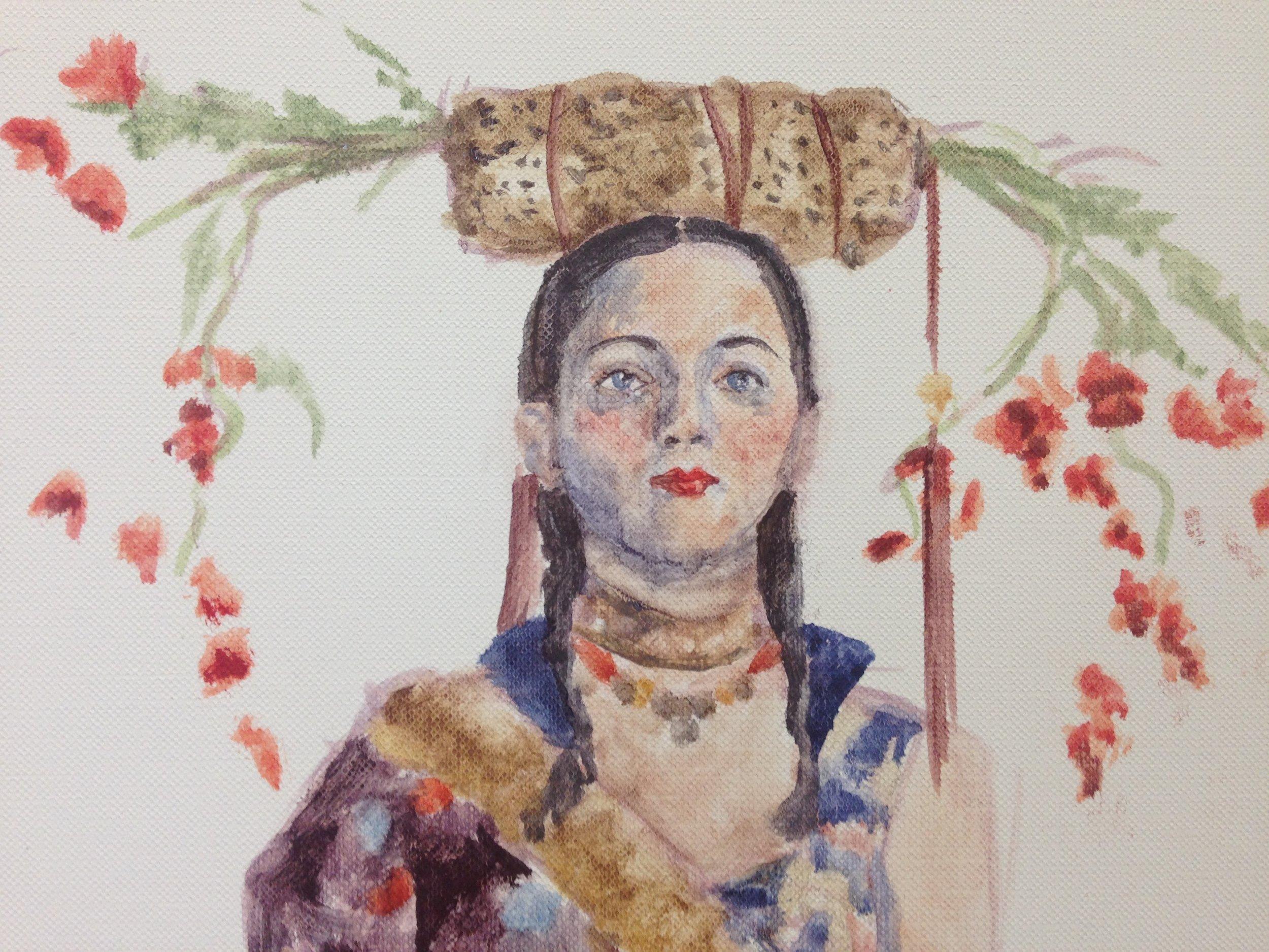 life painting study