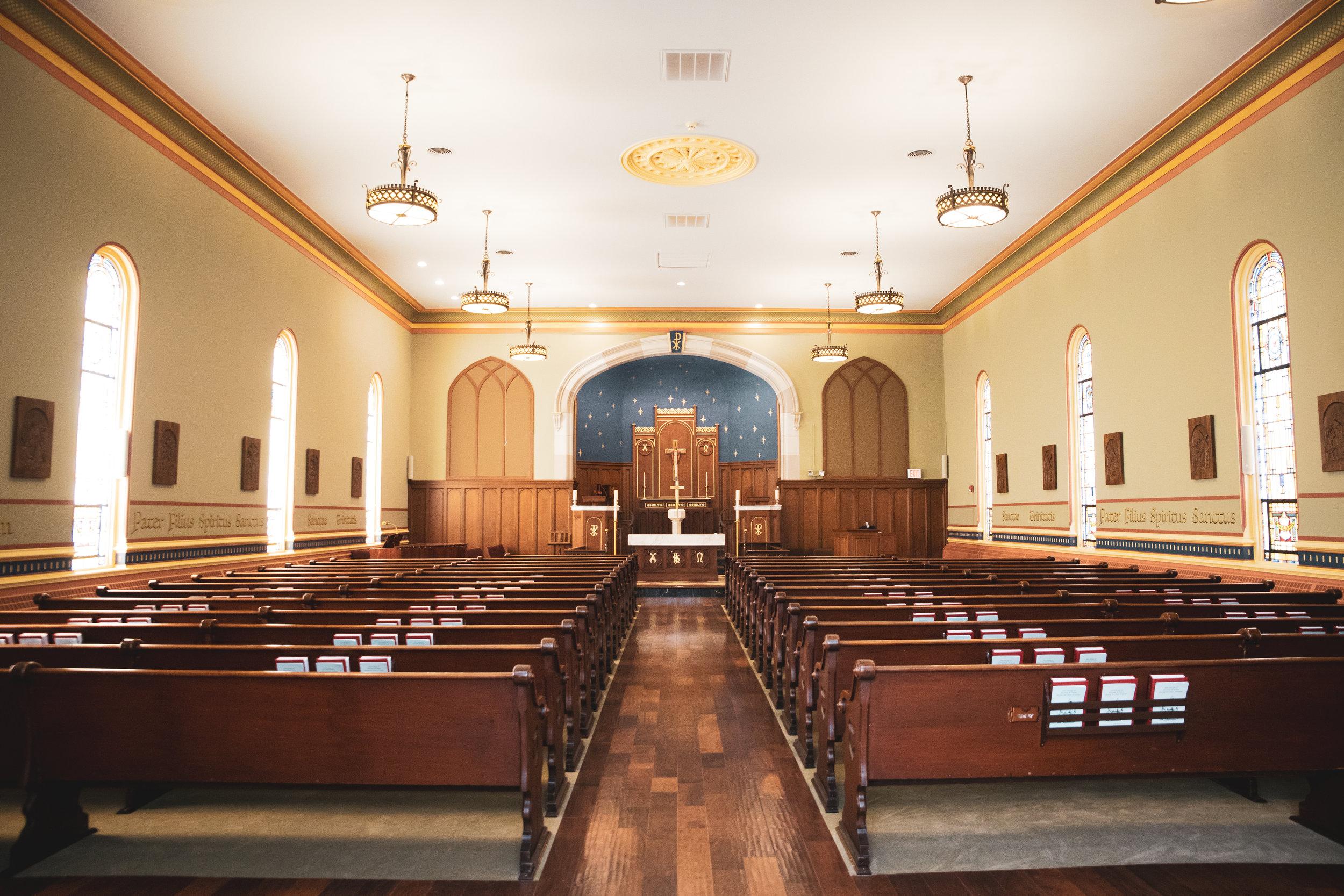 Clark Trinity United Methodist Church Decor