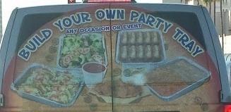 Food ad creative execution