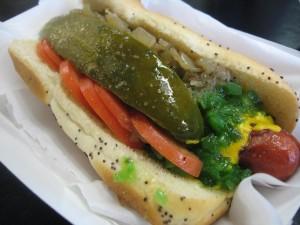 The Dog: Chicago Style Hot Dog