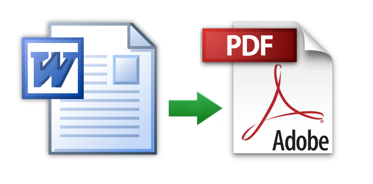 From Word to PDF