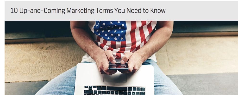 10 Marketing Terms for 2016