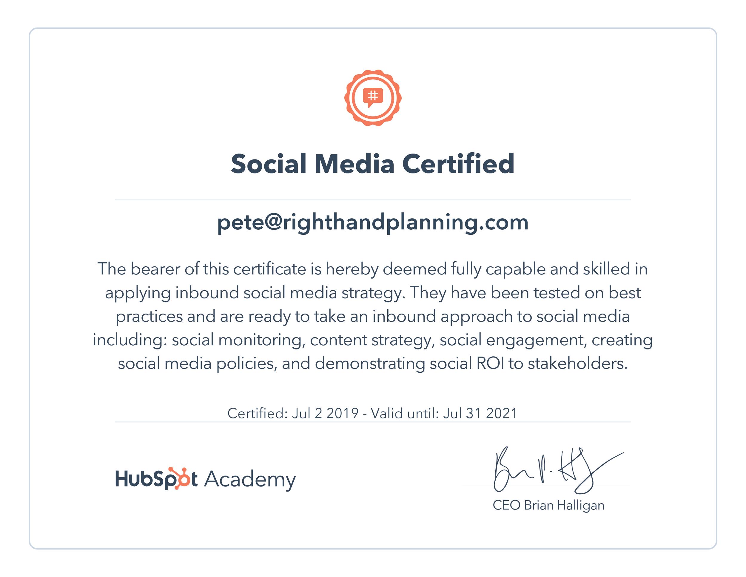 HubSpot Social Media Certification.png