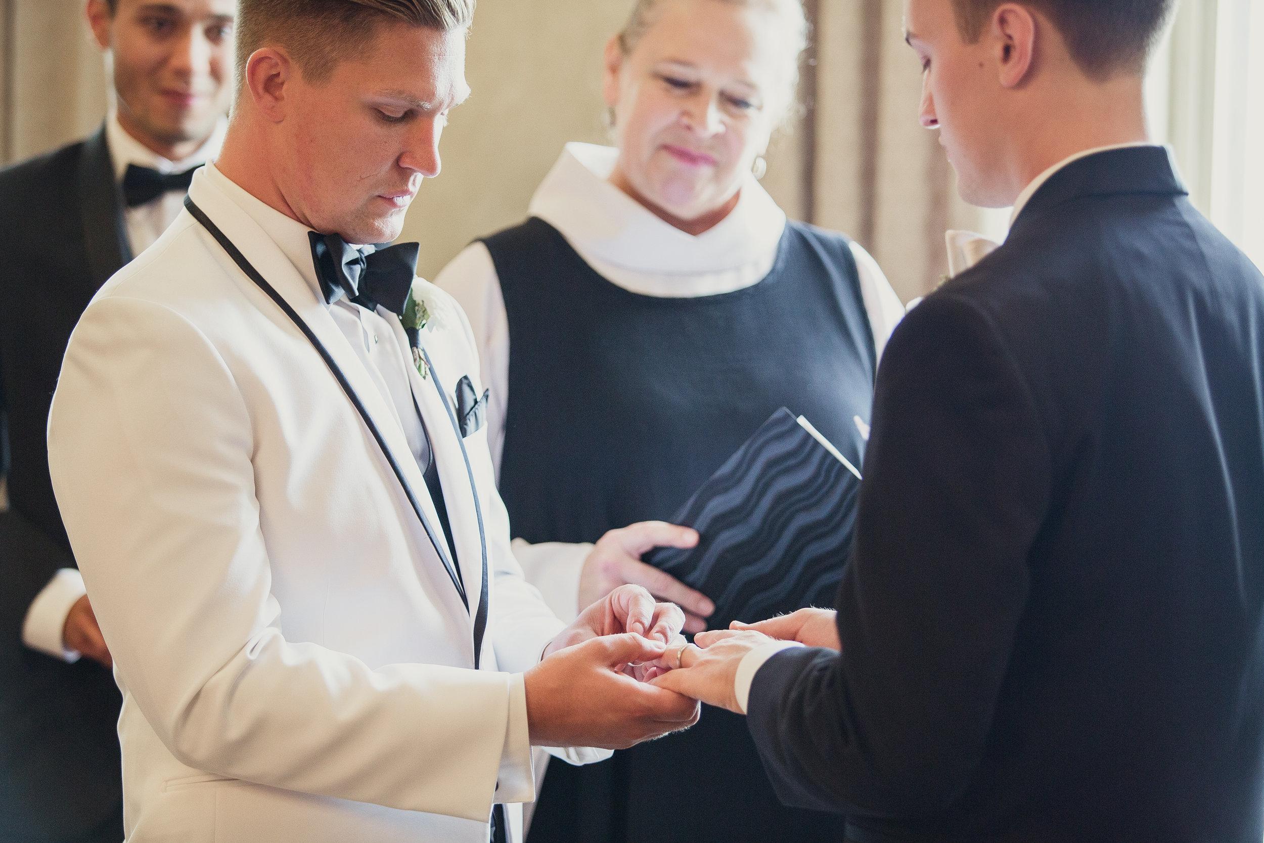 same-sex wedding