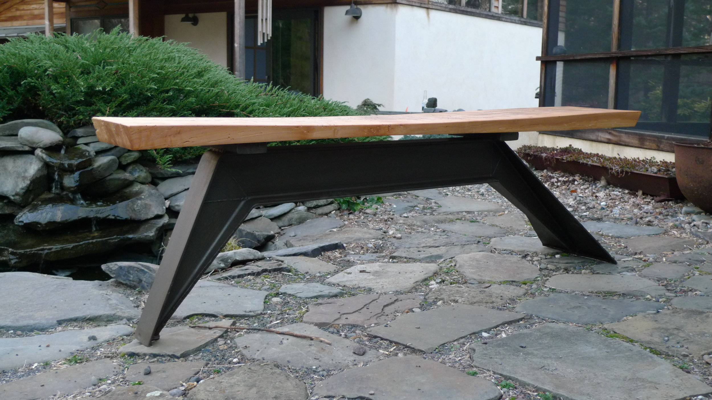 Wormy Maple Coffee Table