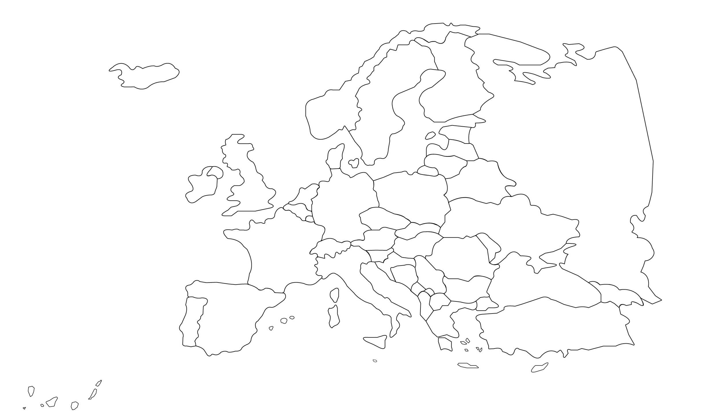 Meine Weltkarte - Weltkarte zum Ausmalen wo man schon war