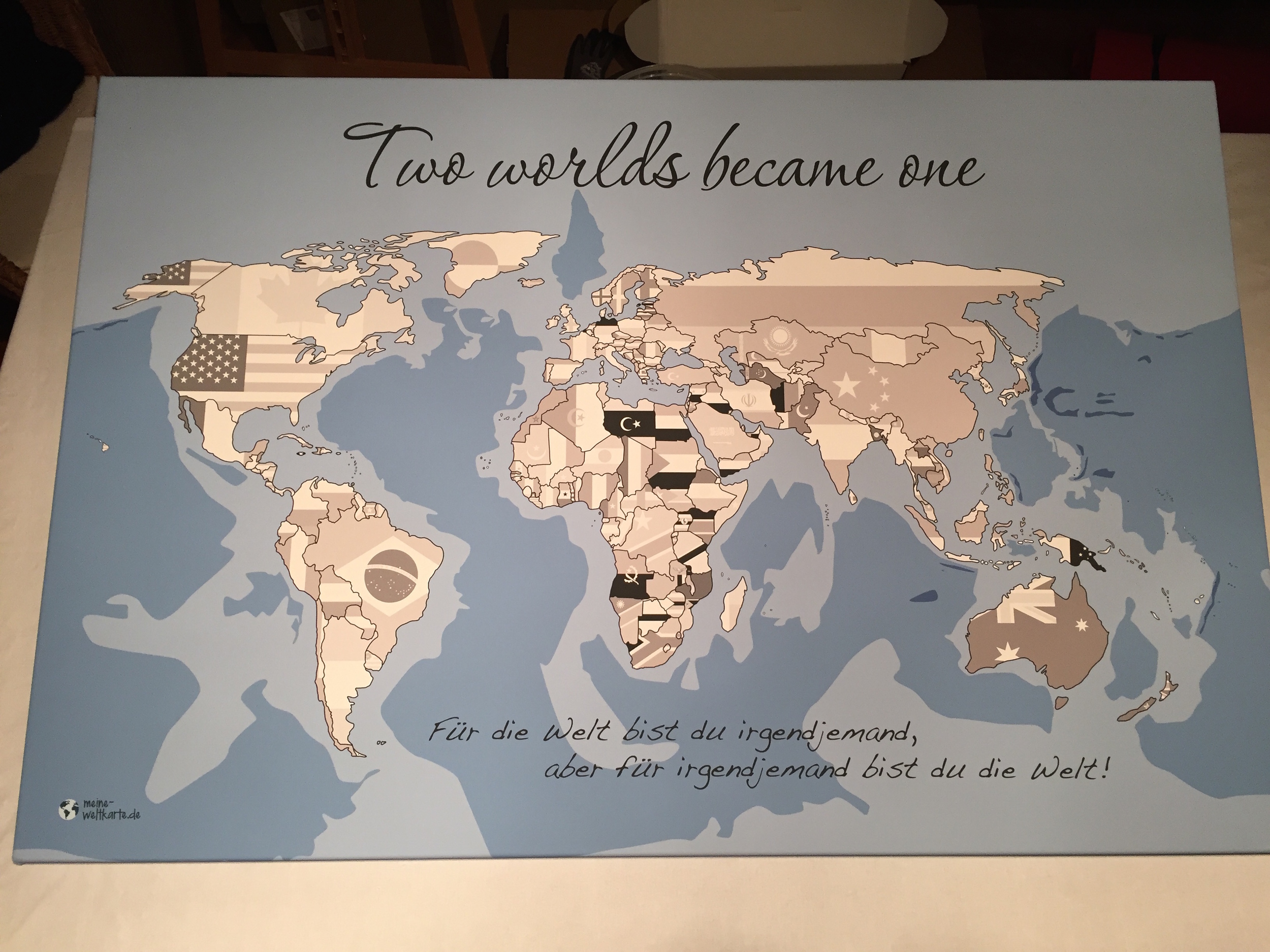 Weltkarte zum ausmalen wo man bereits war.JPG
