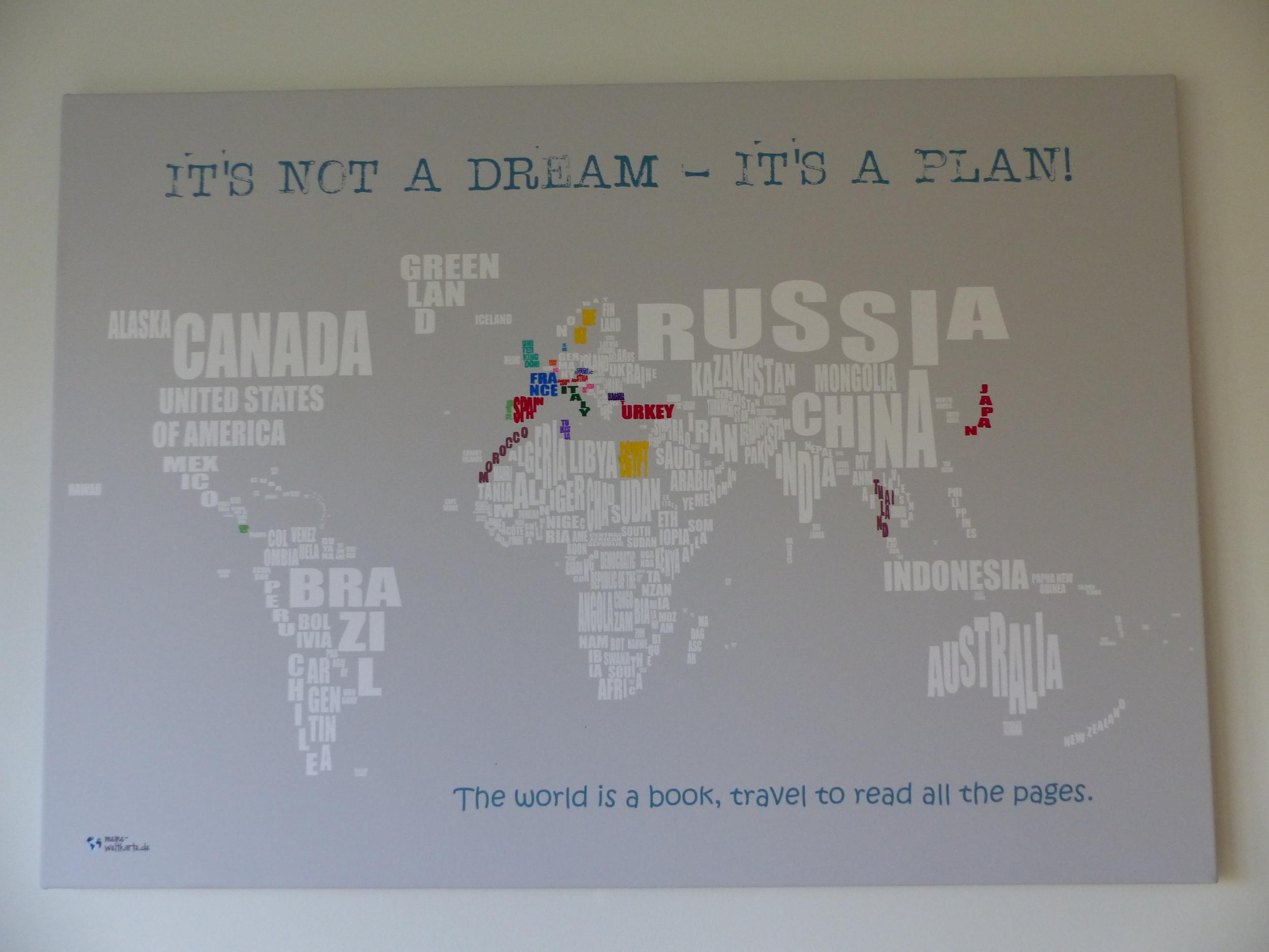 Weltkarte zum ausmalen