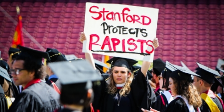 JUNE 2016  -  Interviewed Stanford student protesters for ELLE.com