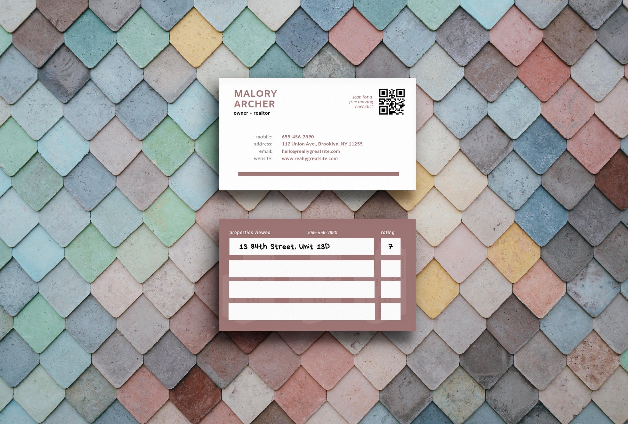 Archer Realty - Branding / Business Cards / Web Design