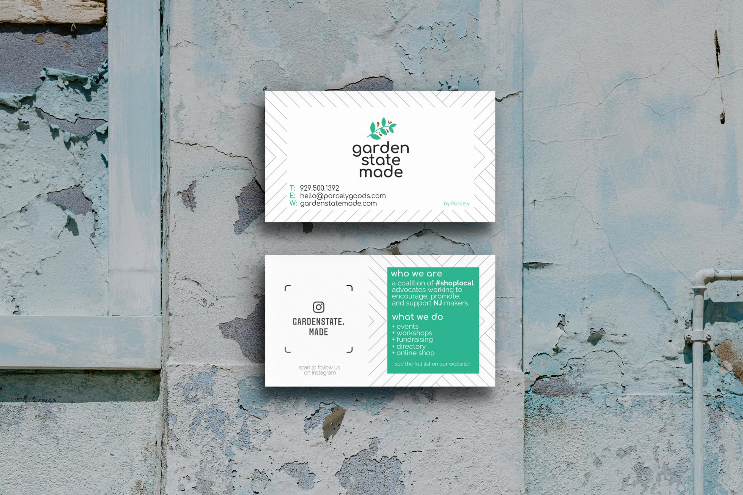 Garden State Made - Branding / Web Design / Business Card