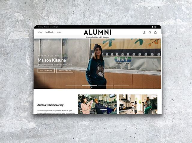 I've been working on @alumniofny for a few months now. The buildout for our new web experience was progressional with a ton of fun ideas and concepts, all of which are primarily based on including high quality imagery. Mega menus, slideshows, lookbooks, shoppable outfits, and crisp cinematography are all a part of helping guests approach shopping boutique & international labels online.  Photos by @zachhhan, content production direction by @jaekicho.  #ux #uxdesign #uxdesigner #uxdesignmastery #uxui #uxdesigners #cobblehill #williambsurg #brooklyndesigner #webdesigner #webdesigners  #brooklyn #brooklynstartups #startups #startupstory