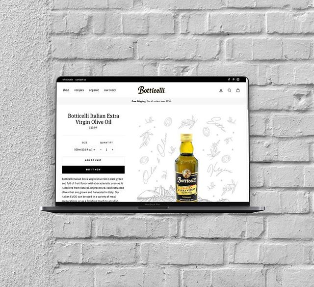 """Incredibly excited and honored to have launched @botticellifoods' new website this week! I'll be covering a lot of the project's design, build out, and process over the next few weeks. A lot of new (and old; come to think of it, let's just go with a generalized """"most"""") businesses are unaware of just how different e-commerce is from almost any other project type. Here's to the future of clearing that up a little bit! . . . #njbusiness #nycbusiness #brooklyn #parkslope #williamsburg #nyc #morristown #summit #hoboken #jerseycity #newjersey #ecommerce #northjersery #design #webdesign #webdesigner #webdesigners #webdesigning #webdesigns #restaurantlife #restaurantowner #webdesignagency #webdesigncompany #webdesignerlife"""