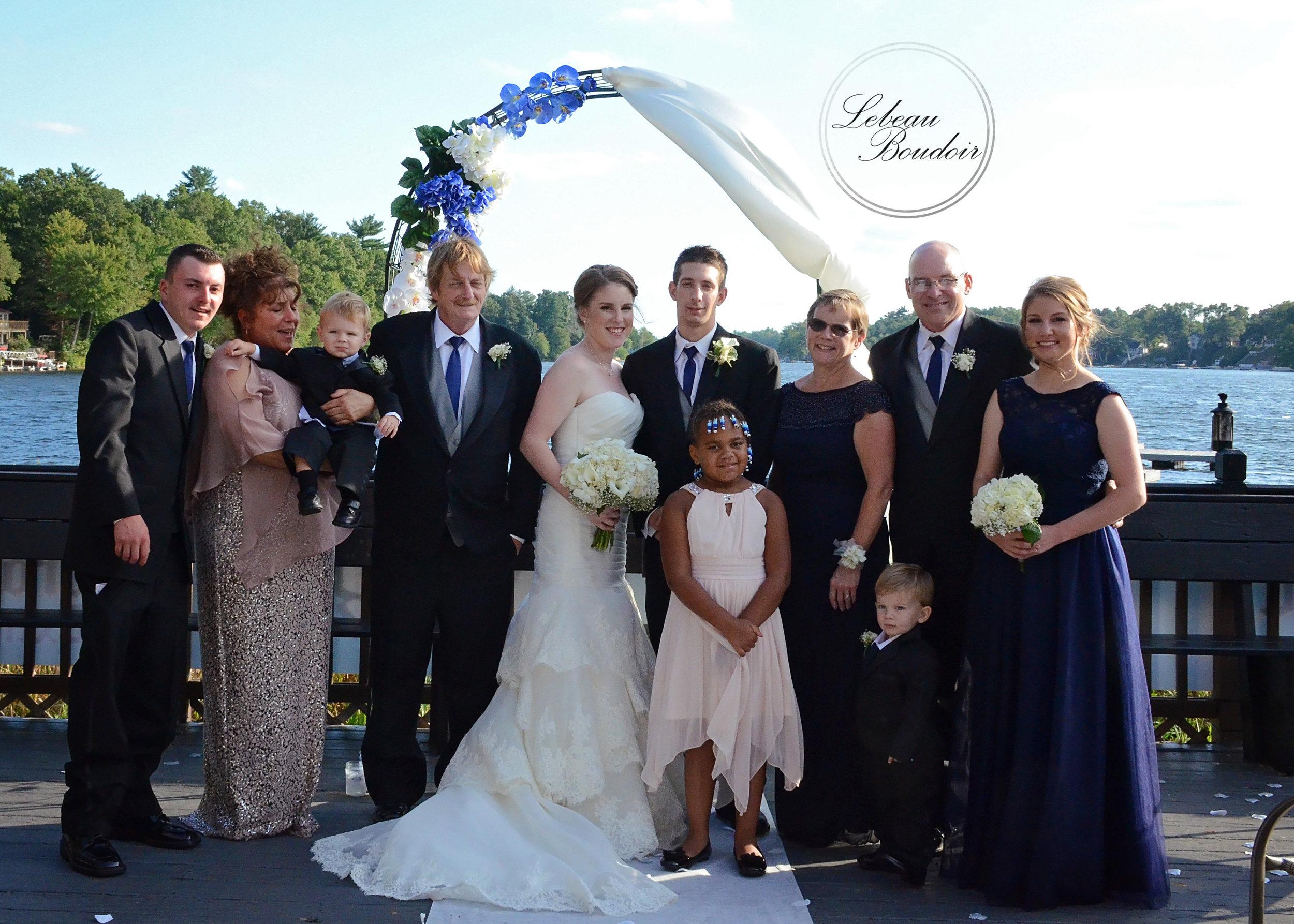 lake congamond southwick weddings family photos