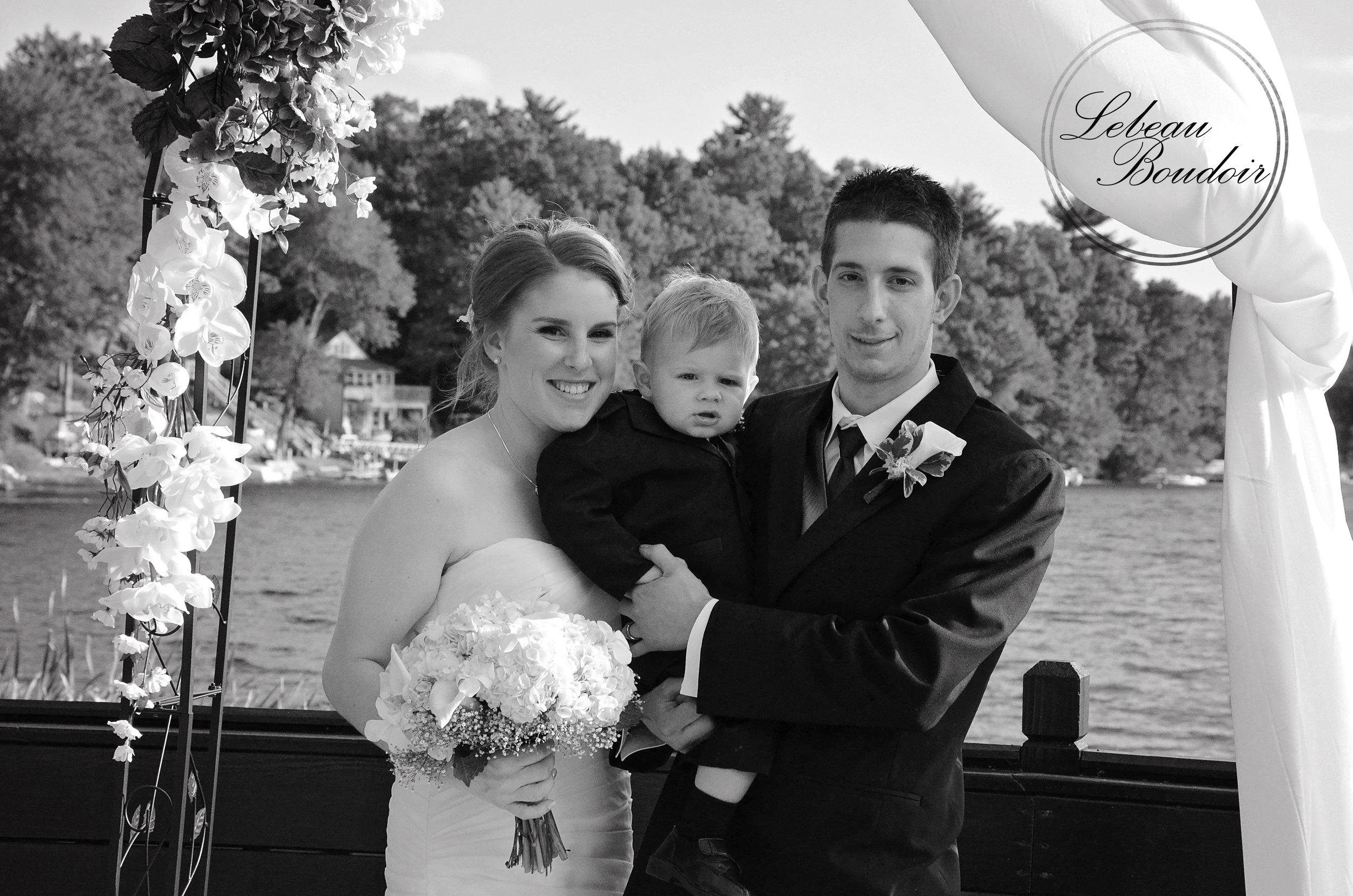 lake congamond wedding perfect family