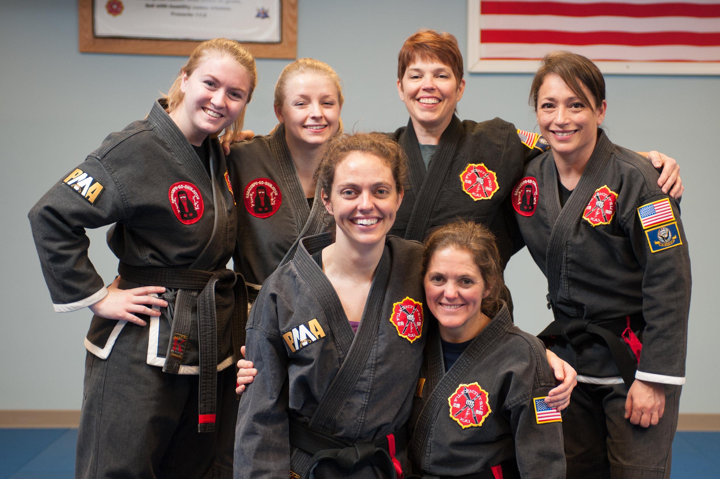 Female Black Belts at PMA!