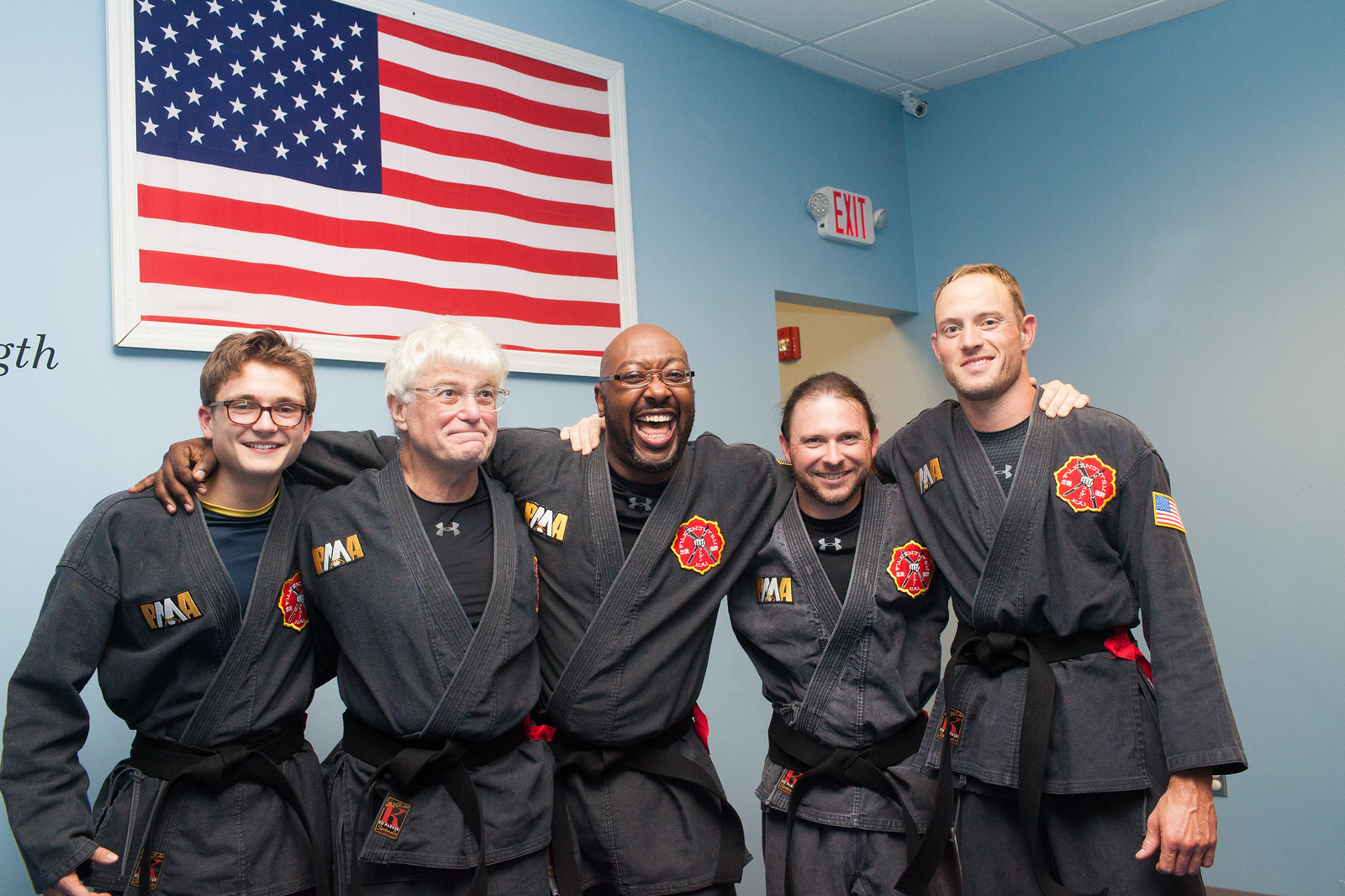 Isaac earned his Black Belt in September alongside 4 other PMA students - the largest group of Black Belts to test together!