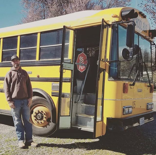 Who misses Ryan?? We do! Here he is getting your kids safely to school. Catch him at Neighbor's Corner on the weekends! Photo: @piperstclaire