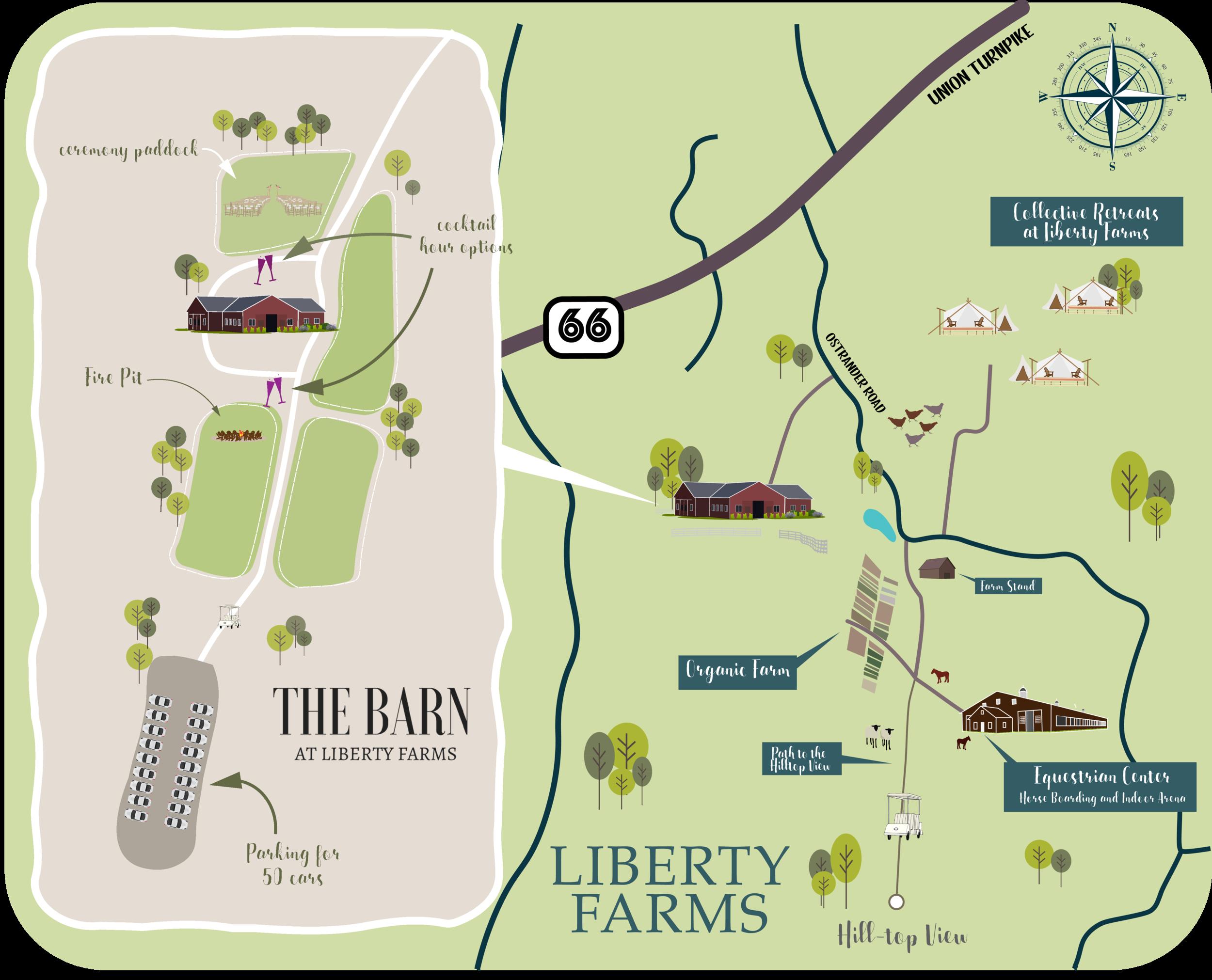 Liberty Farms Property Map