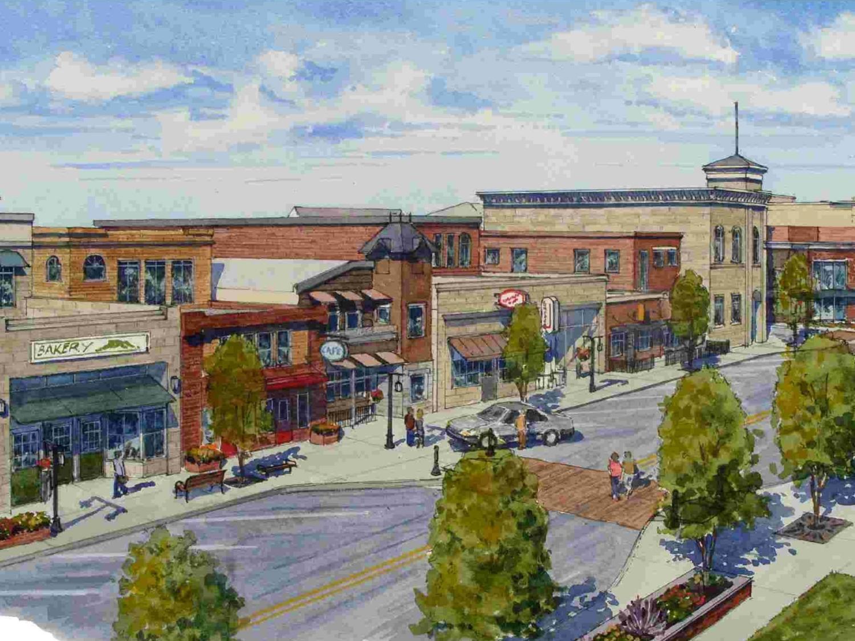Transformed Downtown Wilcox Street