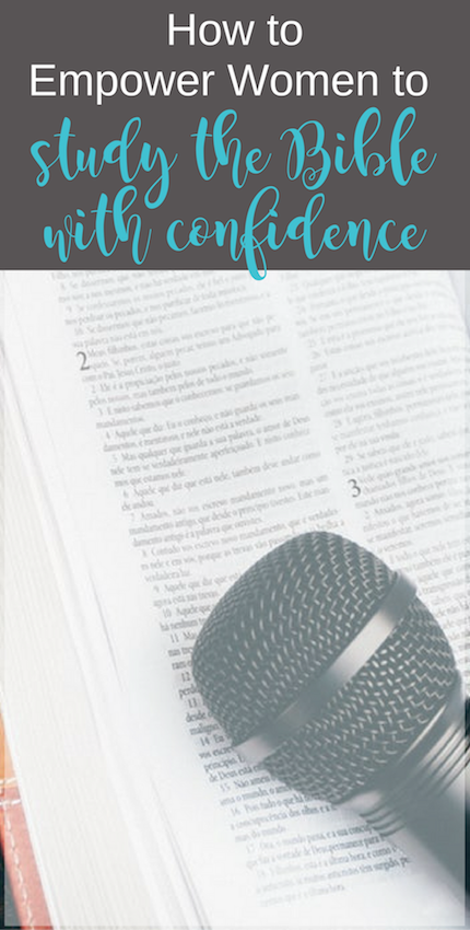 Do you love teaching women to study the Bible? Check out this set of resources. | Scripture Confident Living