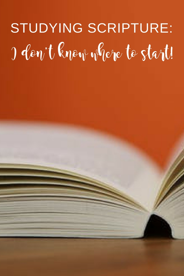 Great tips if you've been wondering where to start reading the Bible. If you want to get into the habit of reading Scripture but don't know where to start (or other obstacles are keeping you away) start here! | Scripture Confident Living