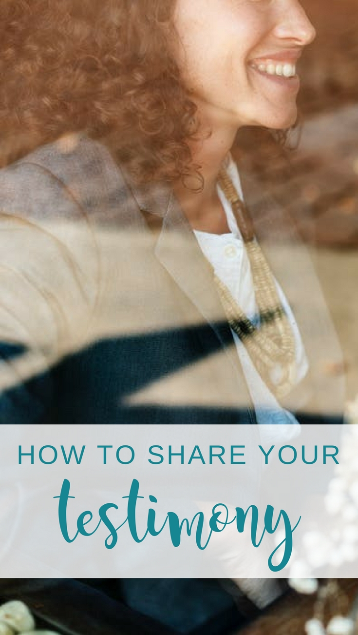 Need tips for how to share your testimony effectively? Check out this post with example testimony. Praise God for saving us! | Scripture Confident Living