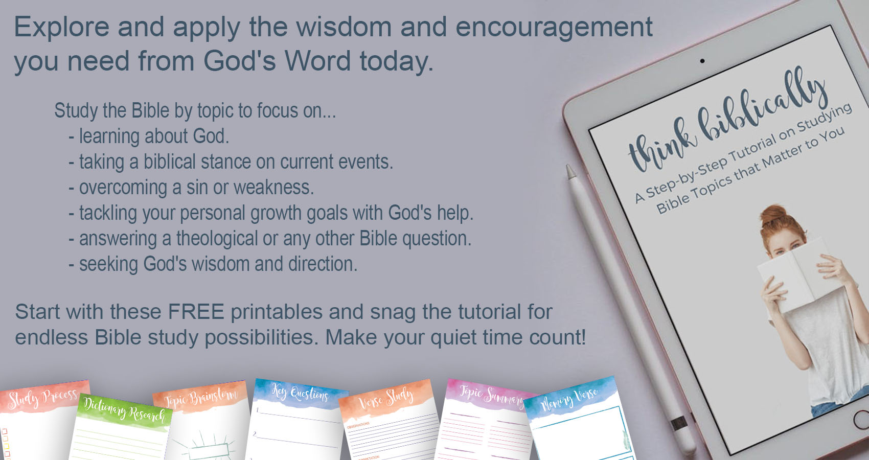 free-bible-study-printables