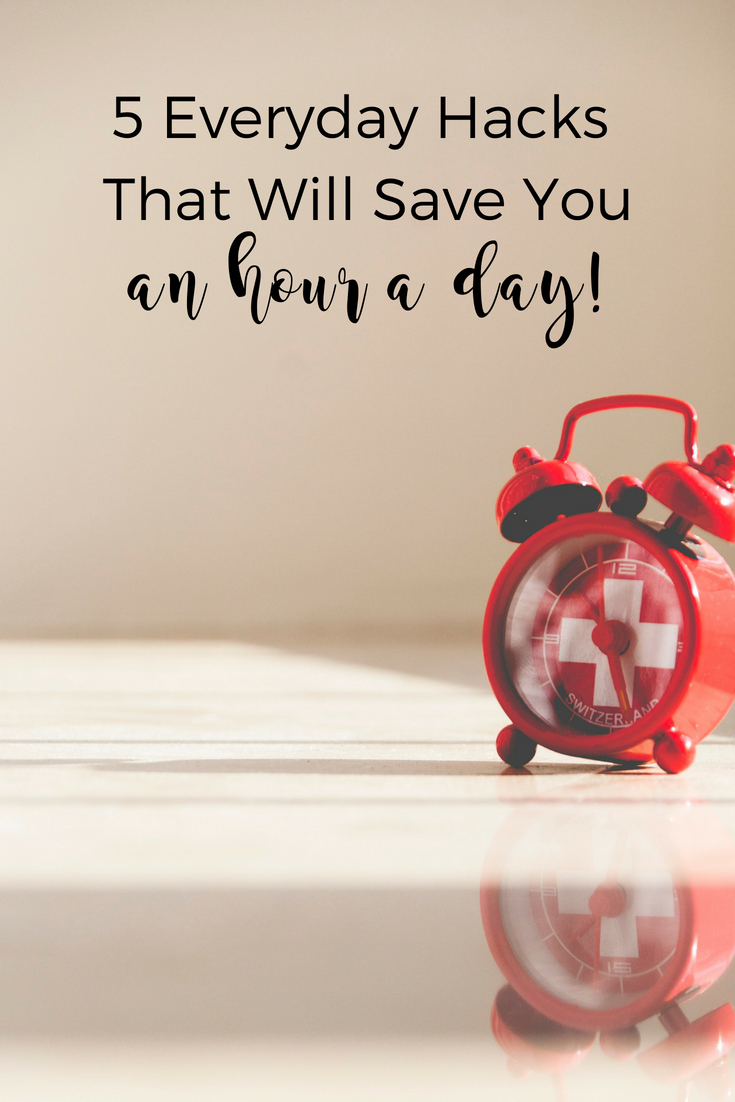 Check out these five productivity hacks that will save you an hour a day.   Scripture Confident Living