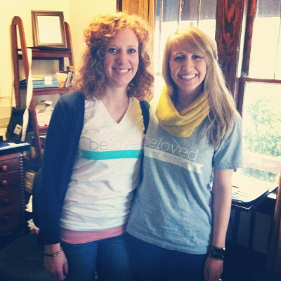 President Amelia Quinn with co-Founder, Kelley Stagnaro