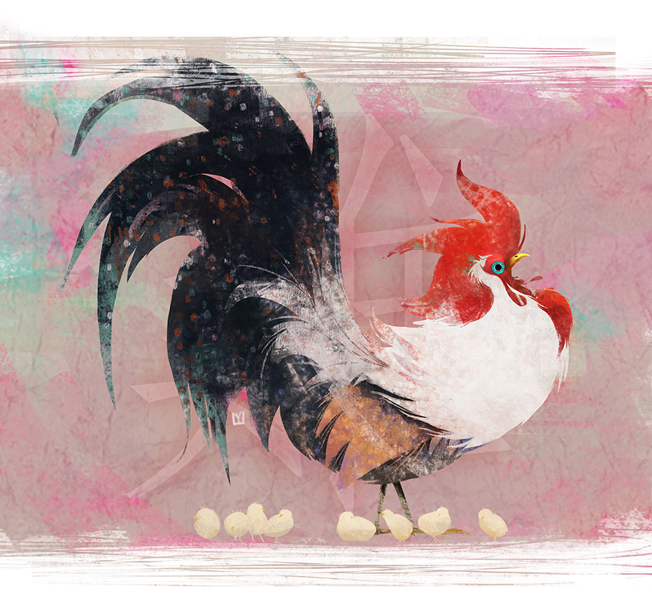 rooster, 2016