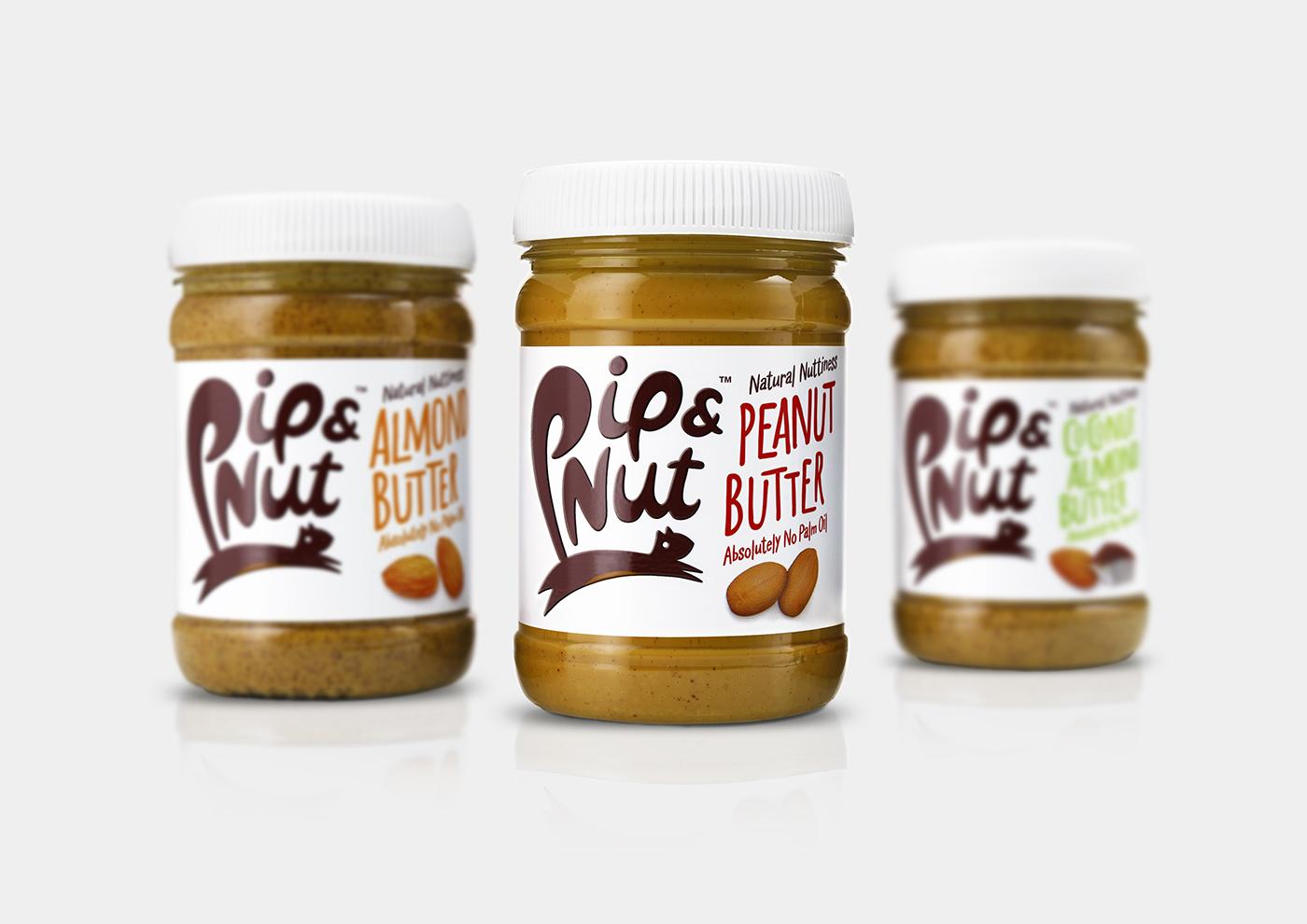 Pip and Nut range