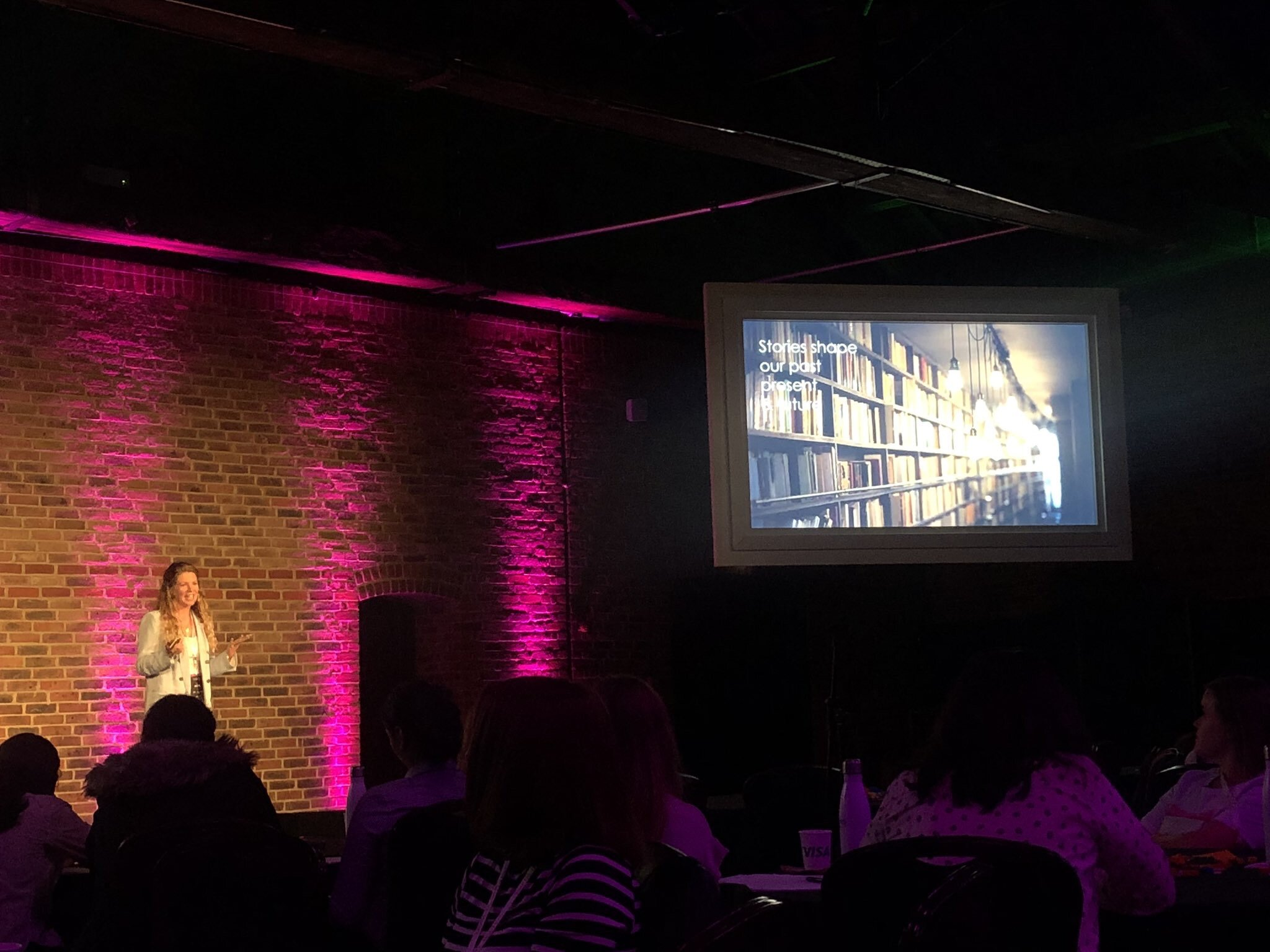 Lesley Stonier @ Girls In Tech Catalyst Conference, London, 4th September, 2019