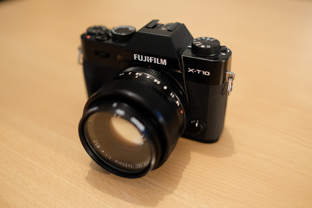 XT-10 with 35mm f1.4 lens