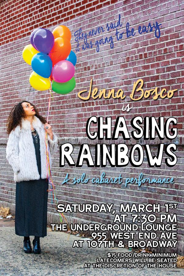"""Chasing Rainbows"" Cabaret"