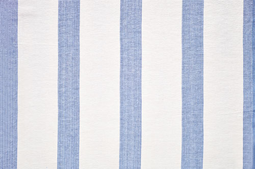 Ceylon Stripe - Blue & White